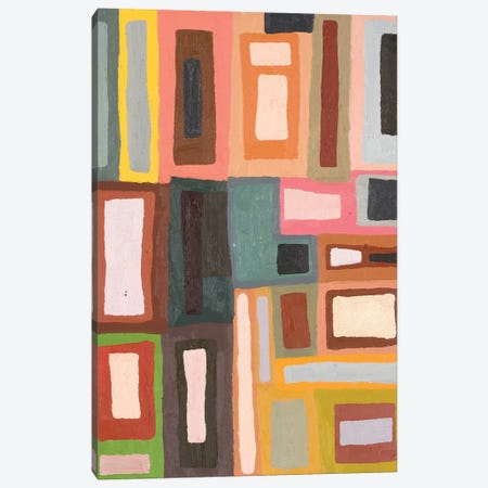 Color Blocking II Canvas Print #EMF54} by Erin McGee Ferrell Canvas Wall Art