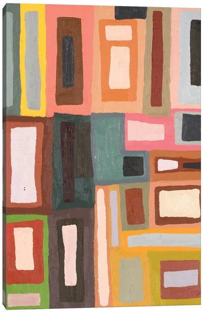 Color Blocking II Canvas Art Print