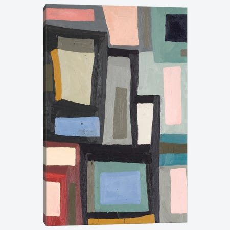 Color Blocking III Canvas Print #EMF55} by Erin McGee Ferrell Canvas Wall Art