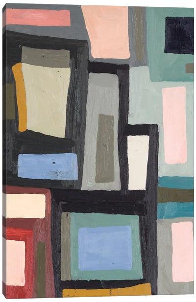 Color Blocking III Canvas Art Print