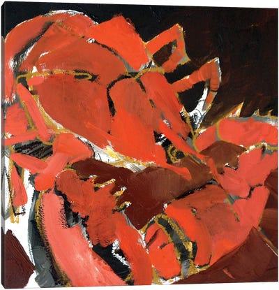 Abstract Lobster V Canvas Art Print