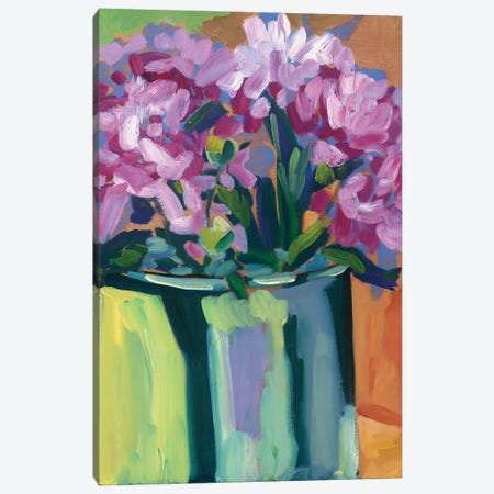 Violet Spring Flowers IV Canvas Print #EMF63} by Erin McGee Ferrell Canvas Art