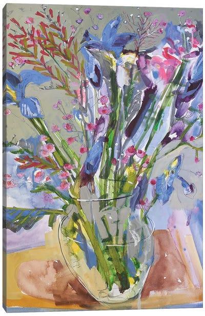 Maine Spring Flowers II Canvas Art Print