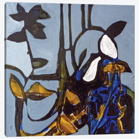 Blue I Canvas Print #EMF6} by Erin McGee Ferrell Art Print