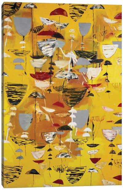 Slate Arrangement II Canvas Art Print