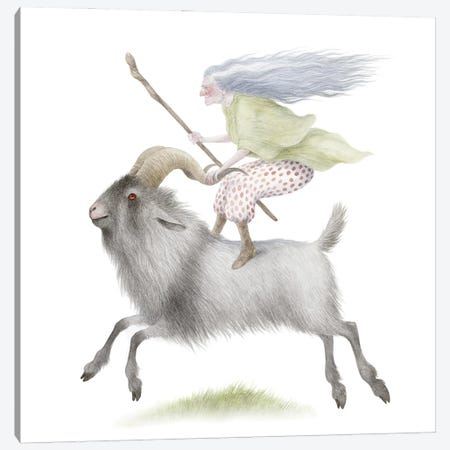 Gertrude & Kismet Canvas Print #EMH21} by Emily Hare Canvas Art