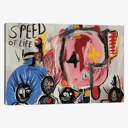 Speed Of Life Canvas Print #EMM110} by Emmanuel Signorino Canvas Wall Art