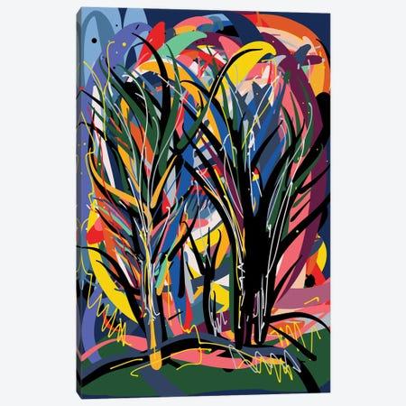 Magic Trees In The Night Canvas Print #EMM116} by Emmanuel Signorino Canvas Print