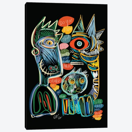Less Is More Mio Bello Amore Canvas Print #EMM11} by Emmanuel Signorino Canvas Art