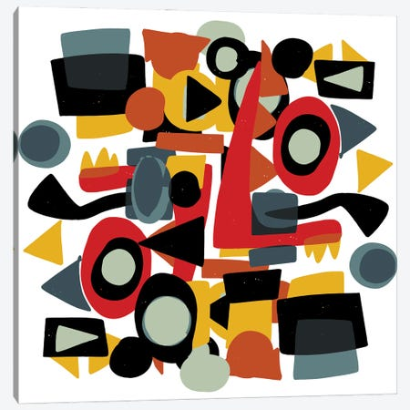 Formes Amusantes Canvas Print #EMM124} by Emmanuel Signorino Canvas Wall Art