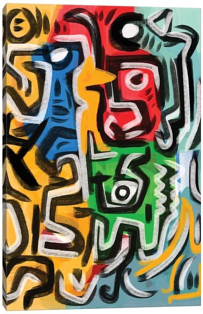 Primal Energy Of Life Canvas Art Print