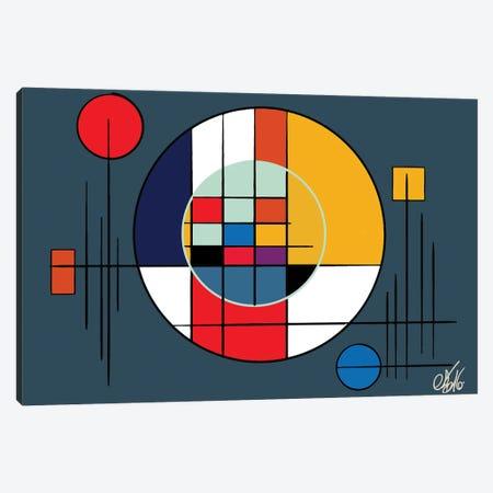 Suprematism Abstract Symbol Canvas Print #EMM141} by Emmanuel Signorino Canvas Art Print