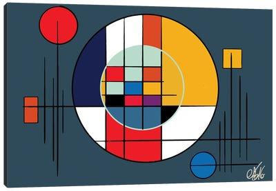 Suprematism Abstract Symbol Canvas Art Print