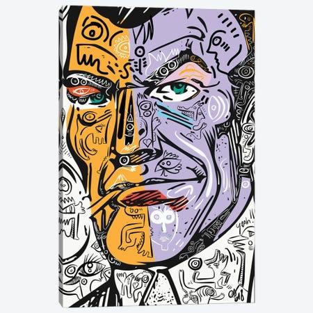 Street Art Comic Pop Art Heroe Canvas Print #EMM157} by Emmanuel Signorino Art Print
