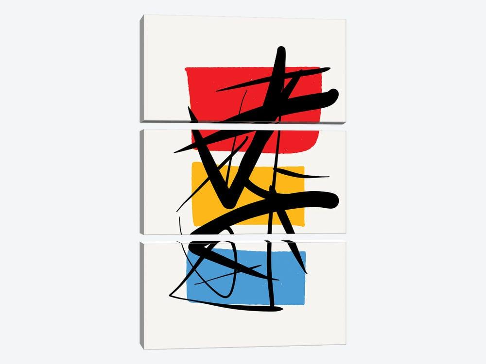 Synchronicity by Emmanuel Signorino 3-piece Canvas Print
