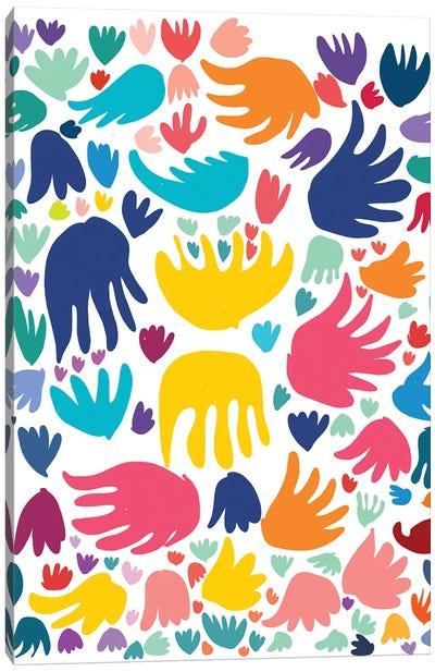 The Birds Of Matisse Canvas Art Print