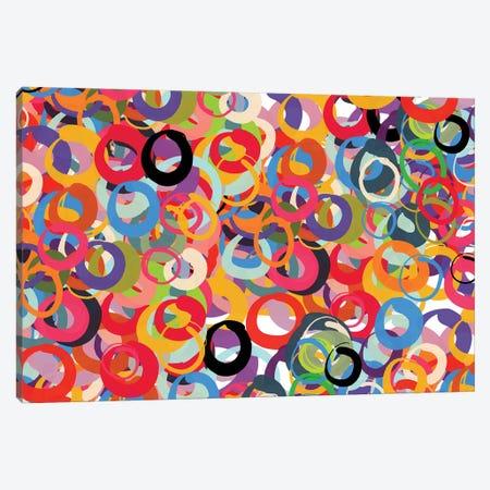 Infinite Circles Of Love Canvas Print #EMM26} by Emmanuel Signorino Canvas Wall Art