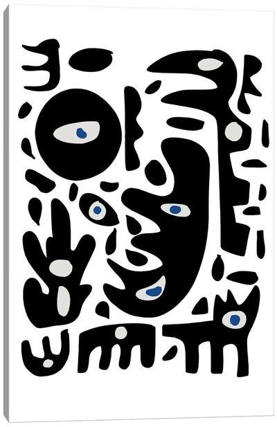 African Spirits Of Nature Canvas Art Print