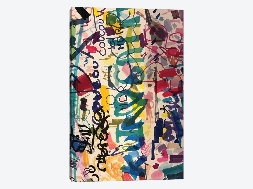 Graffiti Urban Art People's Writing by Emmanuel Signorino 1-piece Art Print