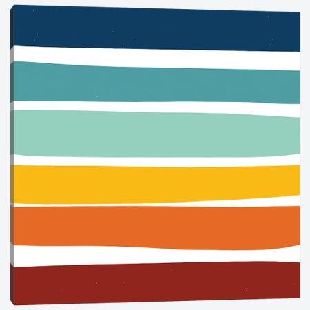 Stripes As A Minimal Soul Canvas Print #EMM44} by Emmanuel Signorino Canvas Artwork