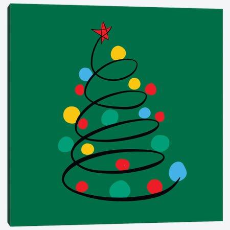 Christmas Tree Canvas Print #EMM55} by Emmanuel Signorino Art Print