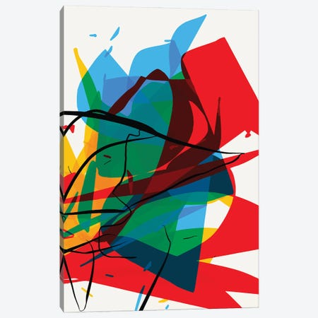 Abstract Art By Thimeo Canvas Print #EMM56} by Emmanuel Signorino Art Print