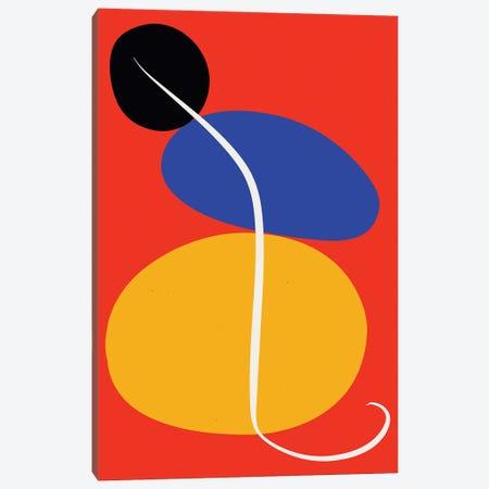 Zen Stones In Red Canvas Print #EMM64} by Emmanuel Signorino Canvas Wall Art