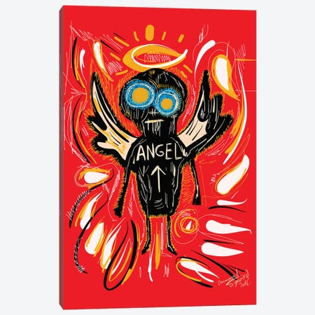 Angel Canvas Print #EMM81} by Emmanuel Signorino Art Print