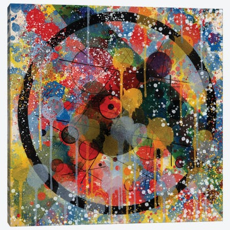 Kandinsky Spray Art Tribute Canvas Print #EMM84} by Emmanuel Signorino Canvas Art