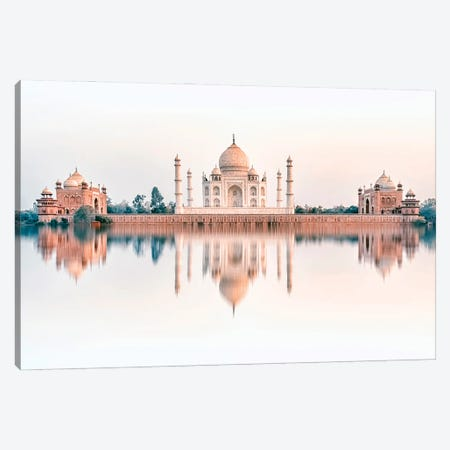 Taj Dream Canvas Print #EMN110} by Manjik Pictures Canvas Artwork
