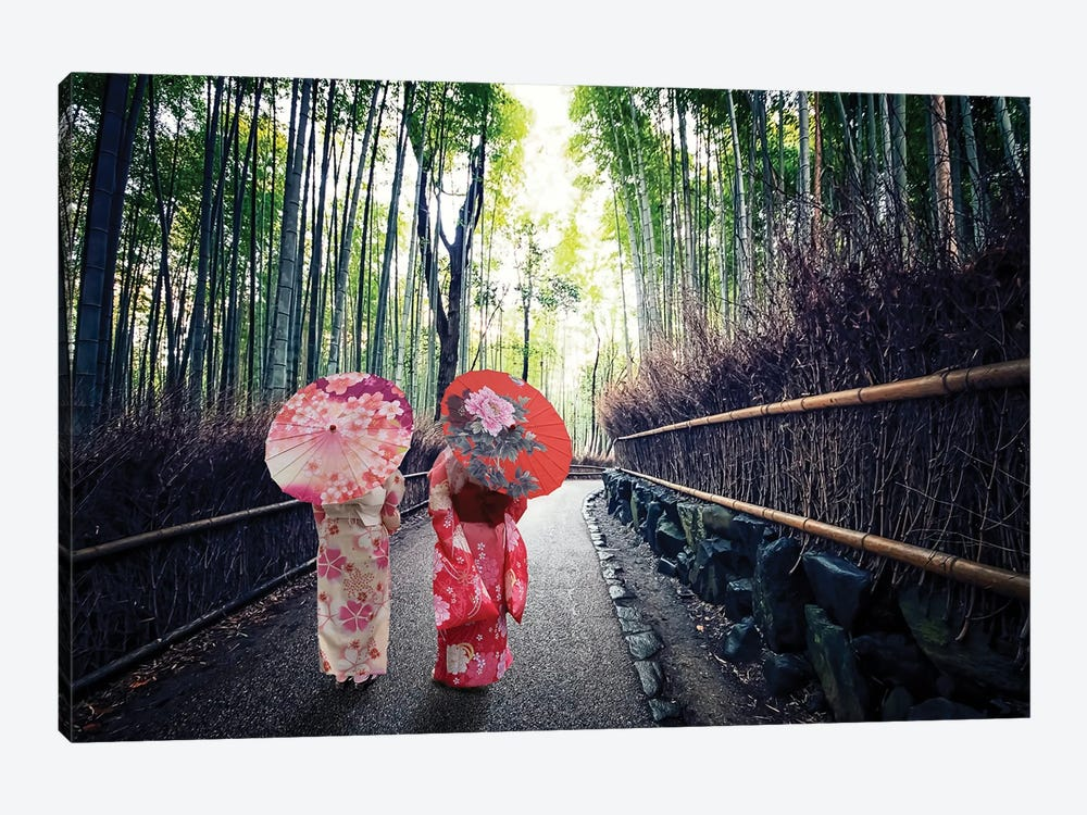 Traditional Japan by Manjik Pictures 1-piece Canvas Artwork