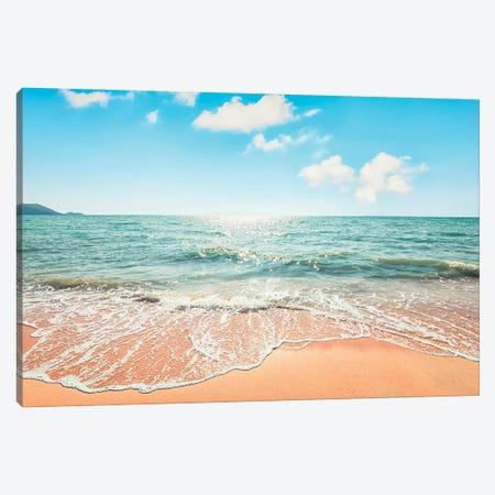 Sand and Sun Canvas Print #EMN133} by Manjik Pictures Canvas Art
