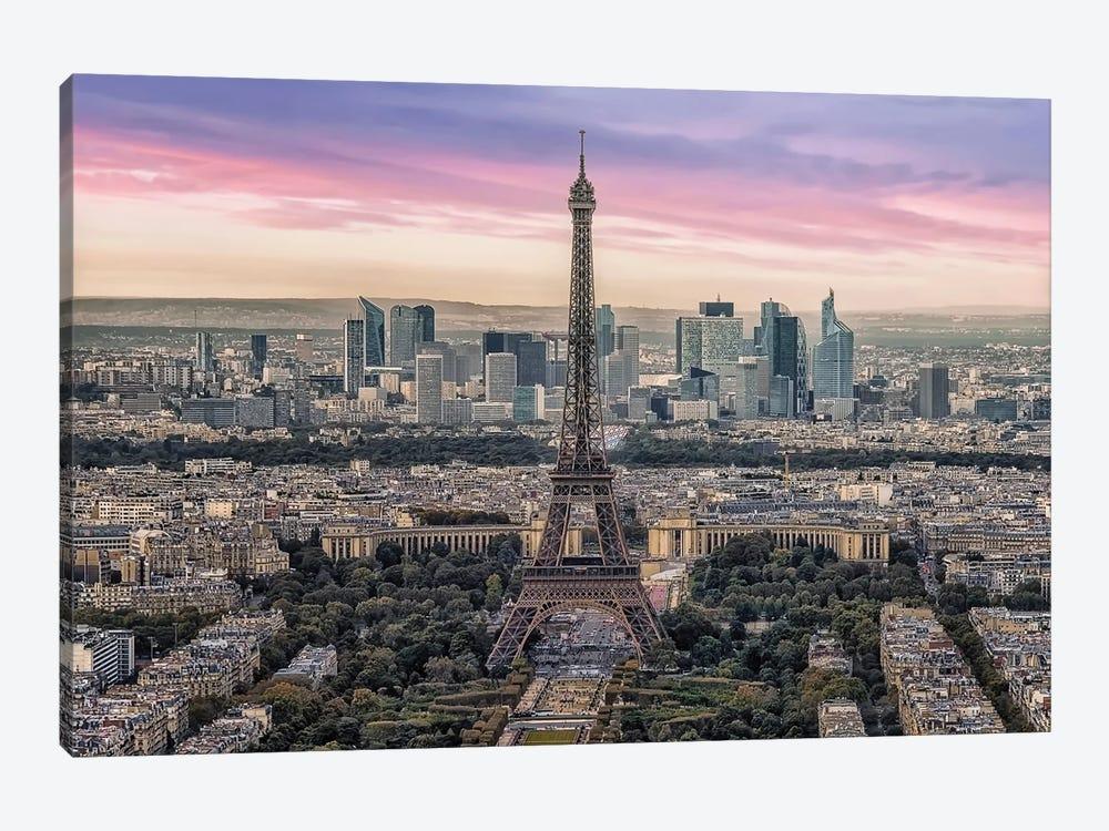 The Beauty Of Paris by Manjik Pictures 1-piece Canvas Art