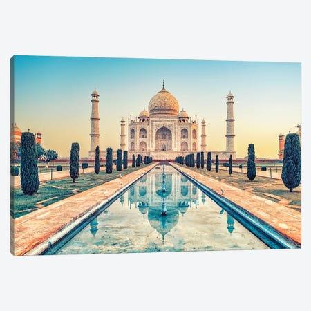Beautiful Taj Mahal Canvas Print #EMN137} by Manjik Pictures Art Print