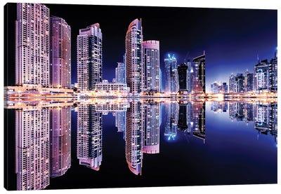 Dubai Marina Canvas Art Print