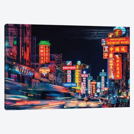 Chinatown Canvas Print #EMN142} by Manjik Pictures Canvas Art Print