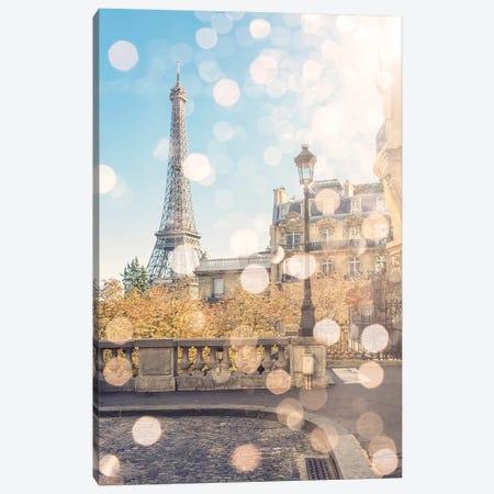 Beautiful Paris Canvas Print #EMN143} by Manjik Pictures Art Print