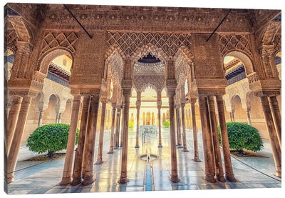 Alhambra Canvas Art Print