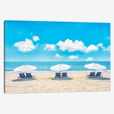 Beach Canvas Print #EMN14} by Manjik Pictures Canvas Wall Art