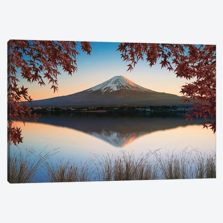 Mount Fuji Canvas Print #EMN159} by Manjik Pictures Canvas Wall Art