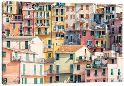 Italian Village Canvas Art Print