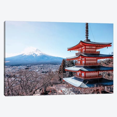 Beauty Of Japan Canvas Print #EMN181} by Manjik Pictures Canvas Print