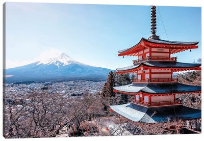 Beauty Of Japan Canvas Art Print