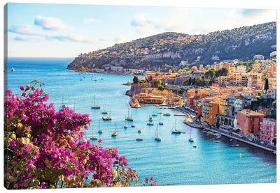 French Riviera Canvas Art Print