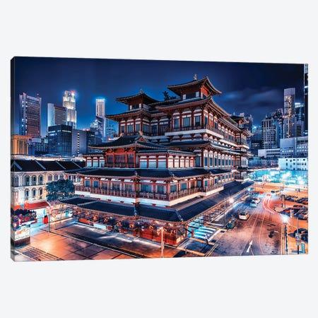 Chinatown Wonder Canvas Print #EMN194} by Manjik Pictures Canvas Art Print
