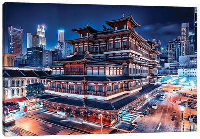 Chinatown Wonder Canvas Art Print
