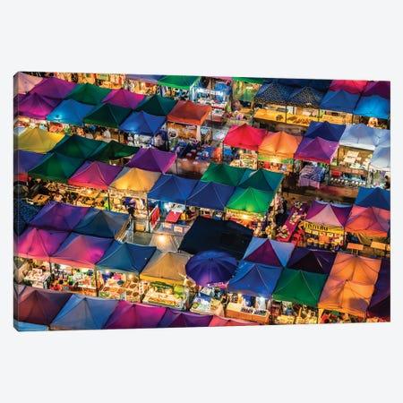 Rod Fai Market Canvas Print #EMN196} by Manjik Pictures Canvas Print