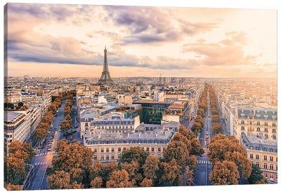 Paris The City Of Lights Canvas Art Print