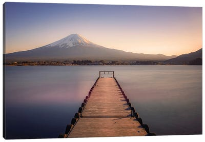Mount Fuji Sunset Canvas Art Print