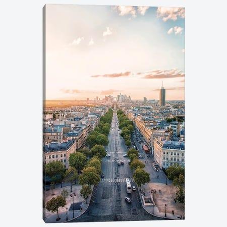 Paris Canvas Print #EMN210} by Manjik Pictures Canvas Print